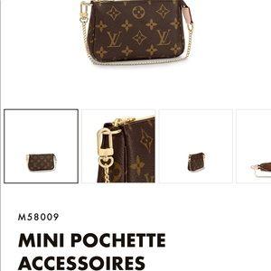 *NEW* Mini Pochette in Monogram print